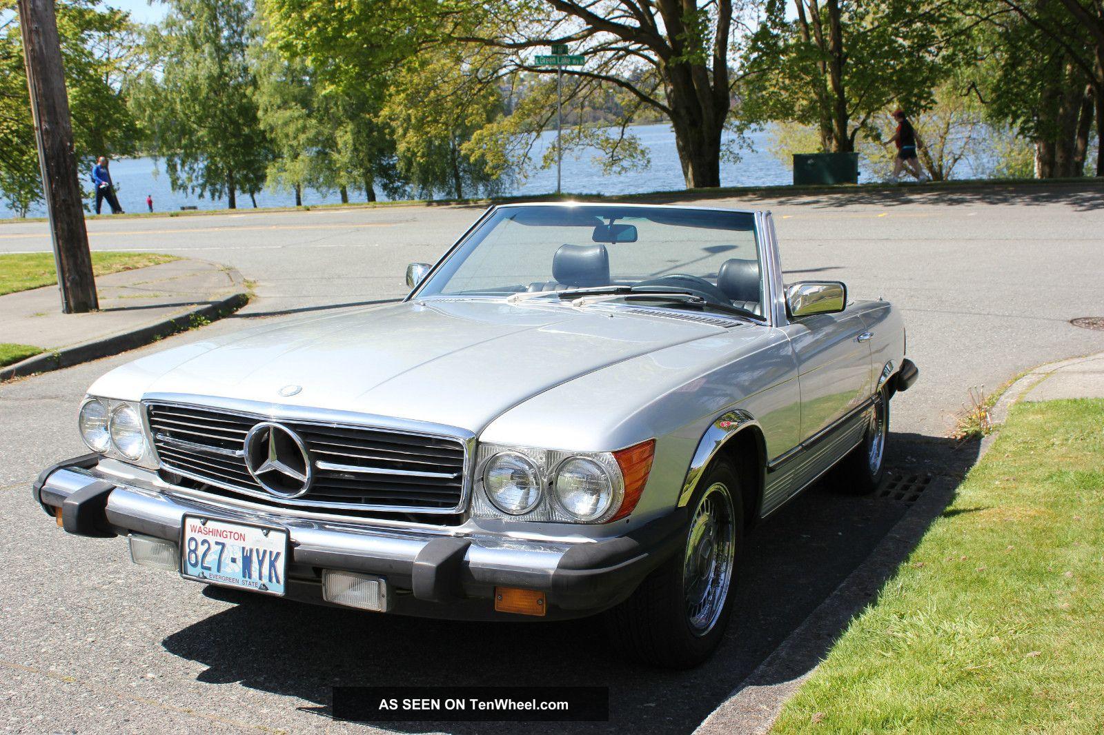 1984 mercedes benz sl class 380sl conv for 380sl mercedes benz