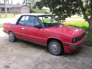 1985 Amc Alliance Convertible photo