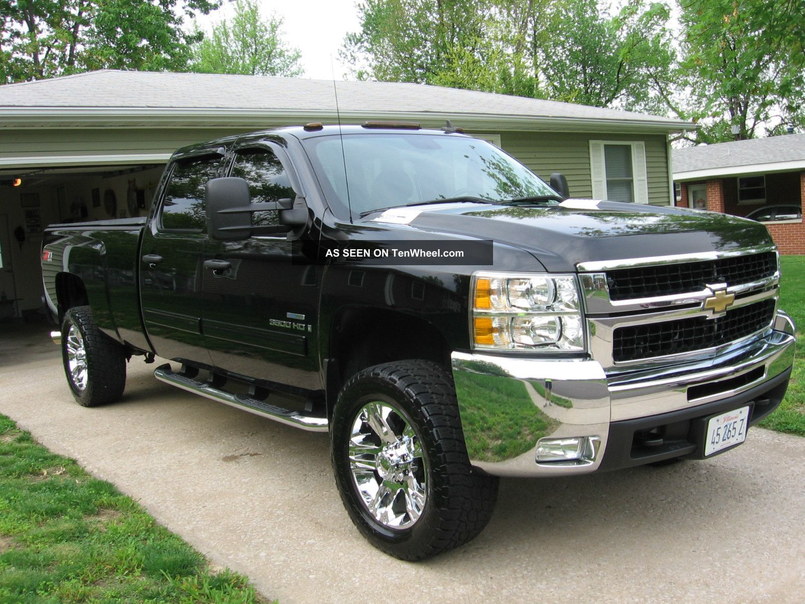 2009 Chevrolet Silverado 3500 Hd Lt Crew Cab Pickup 4 - Door 6.  6l Silverado 3500 photo