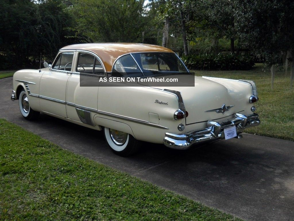 1953 packard patrician 4 door sedan for 1953 cadillac 4 door sedan