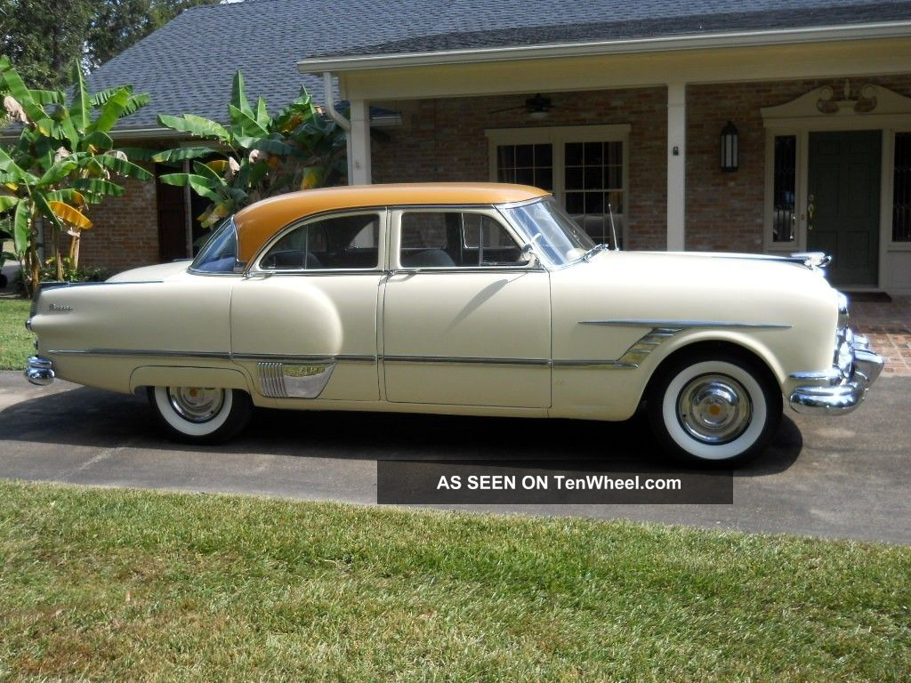 1953 packard patrician 4 door sedan for 1953 ford 4 door sedan