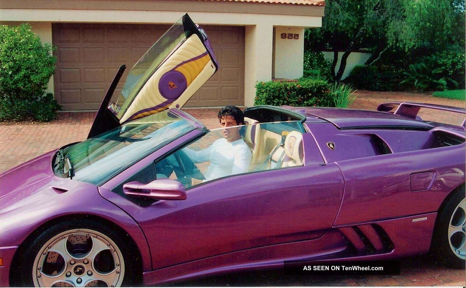 1998 Lamborghini Diablo Coupe 2 Door 5 7l Vt Roadster
