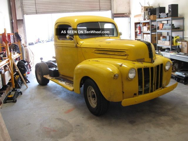 1947 1 / 2 Ton Ford Pickup,  Restoration Or Rat Rod Project Other Pickups photo