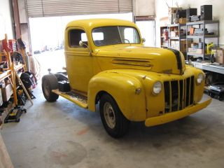 1947 1 / 2 Ton Ford Pickup,  Restoration Or Rat Rod Project photo
