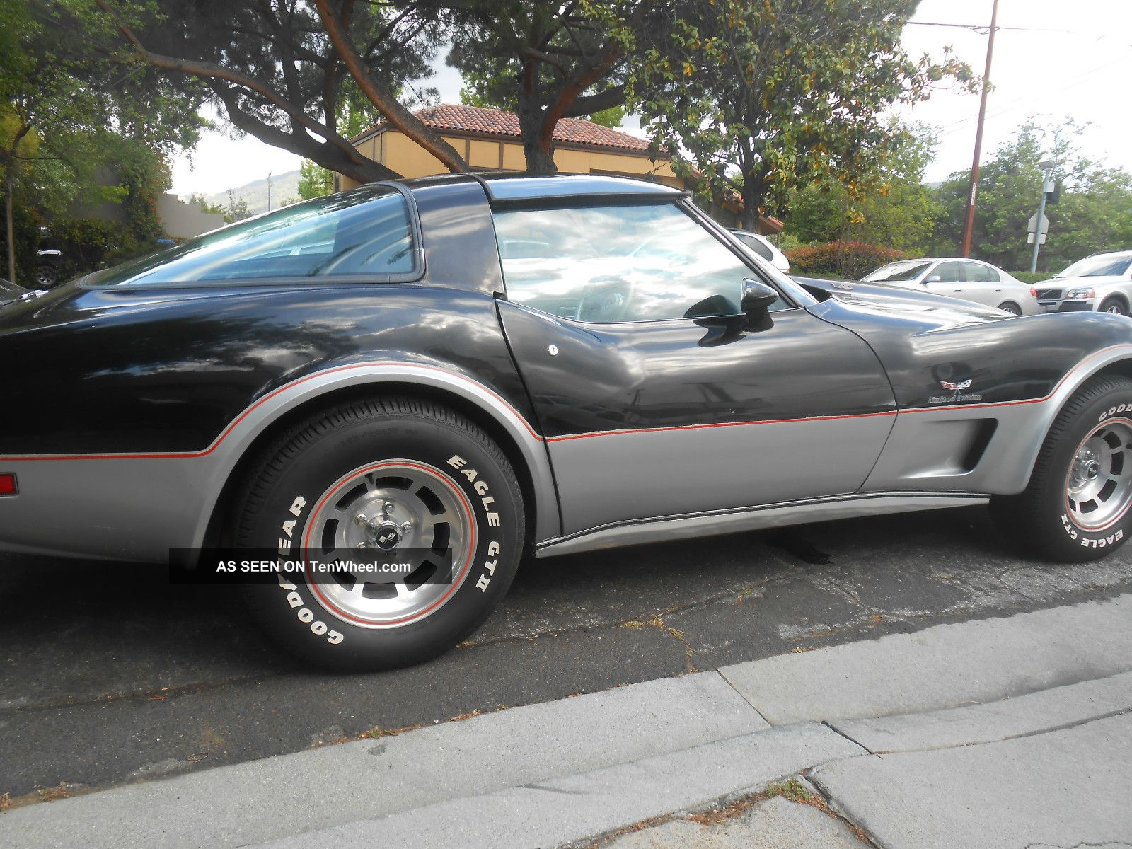 1978 Corvette 25th Silver Anniversary Edition