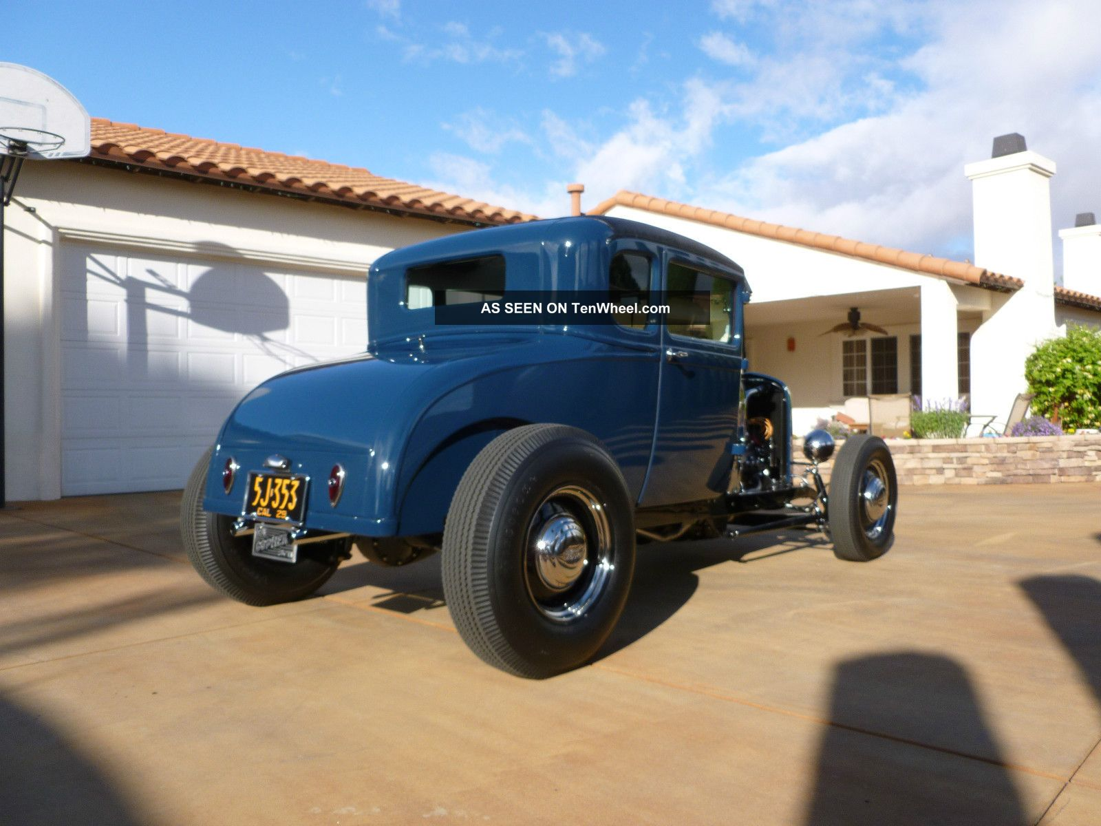 1929 ford a v8 5 window coupe