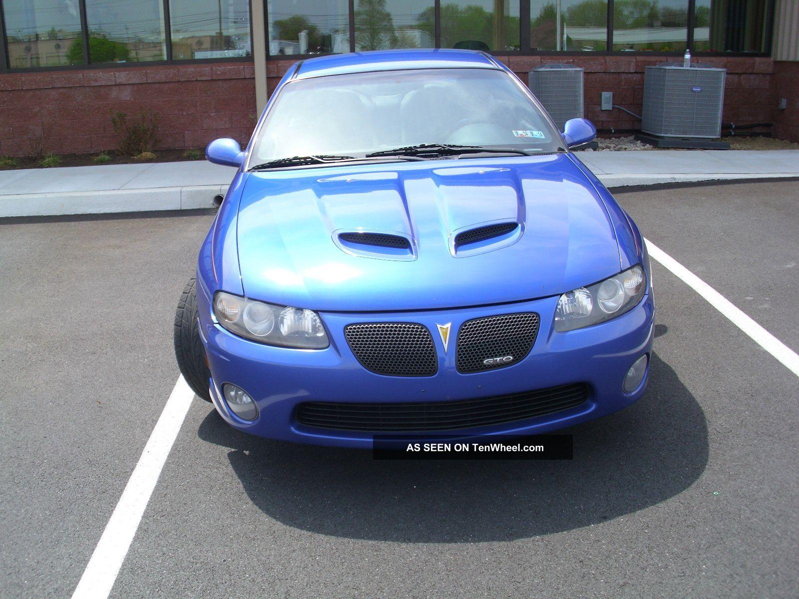2005 Pontiac Gto 6. 0 Liter, Automatic / Overdrive, Blaupunkt 6 ...