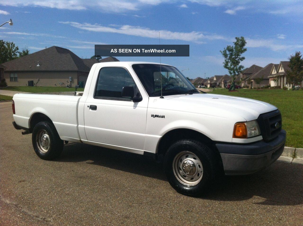 2004 ford ranger xl standard cab pickup 2 door 2 3l truck. Black Bedroom Furniture Sets. Home Design Ideas