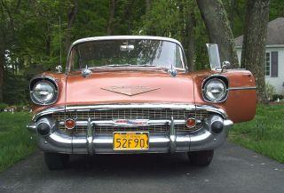 1957 Chevrolet Belaire 4 Dr.  Hardtop - V8 photo