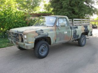1987 M1008 Cucv Truck - Chevy 1 Ton 6.  2 Diesel 4x4 photo