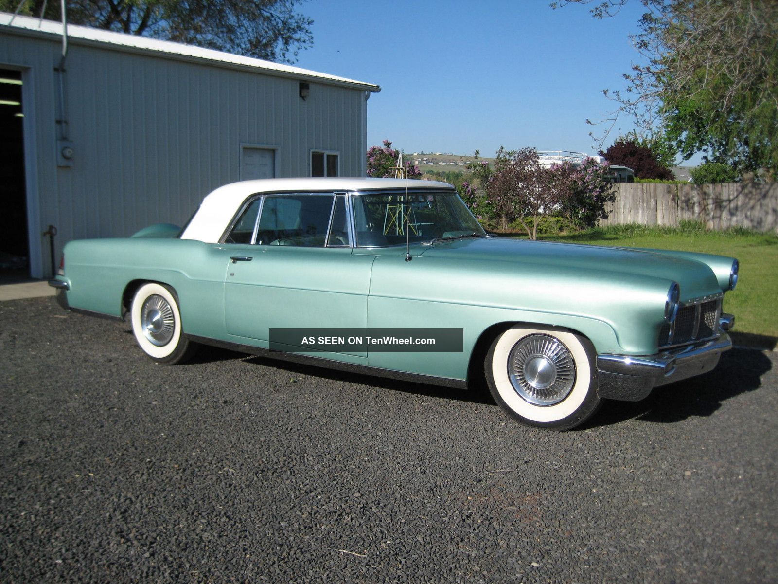1957 Lincoln Continental Mark Ii Good Driver,  Restor,  Clasic Look ' S, Mark Series photo