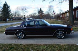 1985 Chevrolet Caprice Classic Sedan 4 - Door 4.  3l photo