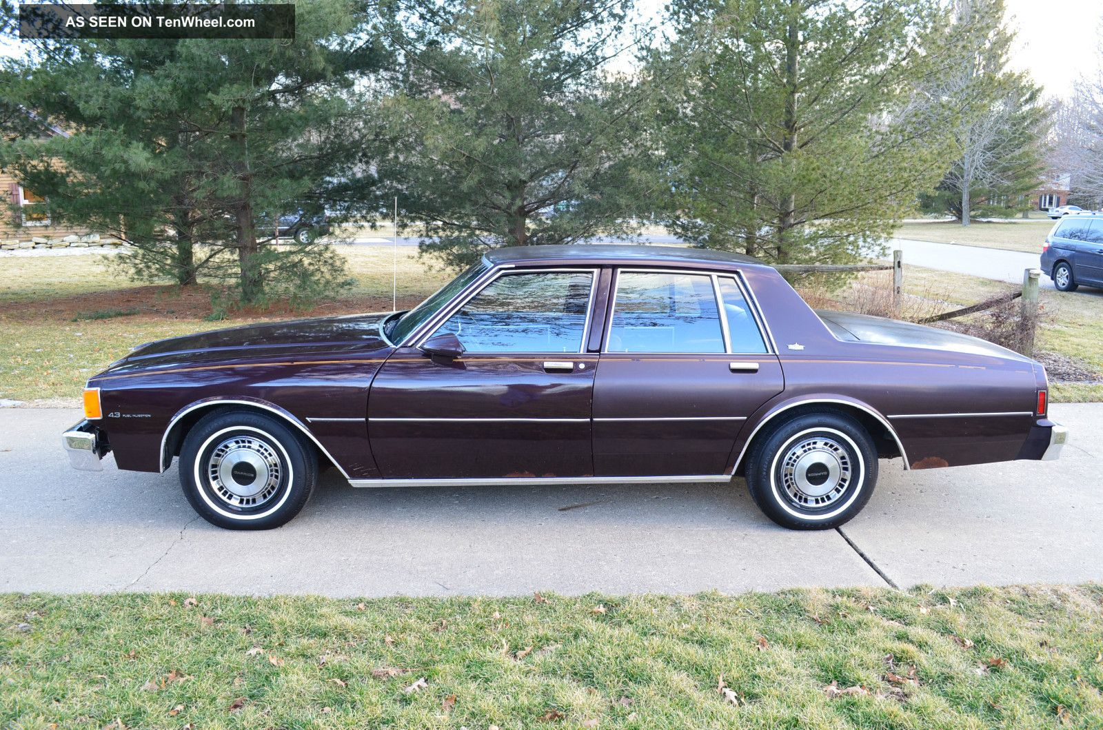 1985 Chevrolet Caprice Classic Sedan 4  Door 4. 3l Caprice photo 1