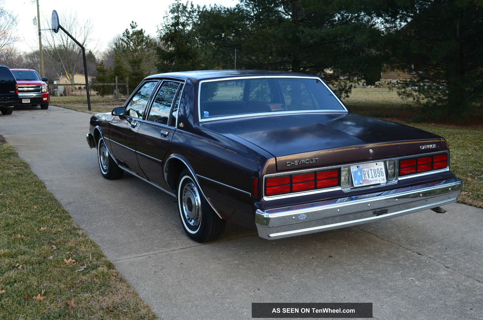 1985 Chevrolet Caprice Classic Sedan 4  Door 4. 3l Caprice photo 5