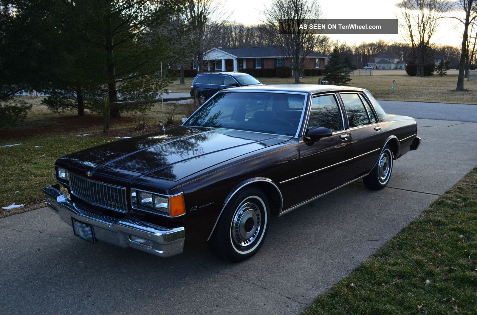 1985 Chevrolet Caprice Classic Sedan 4  Door 4. 3l Caprice photo 6