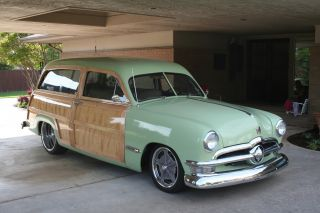 1950 Ford Woody,  Woodie,  Station Wagon photo