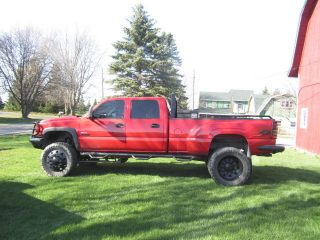 2006 Chevrolet Silverado 3500 Lt Crew Cab Pickup 4 - Door 6.  6l - Lifted Show Truck photo