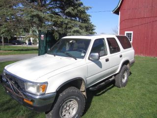 1992 Toyota 4runner Sr5 Sport Utility 4 - Door 3.  0l photo