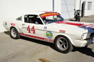 1966 Ford Shelby Mustang Gt - 350 Race Car photo