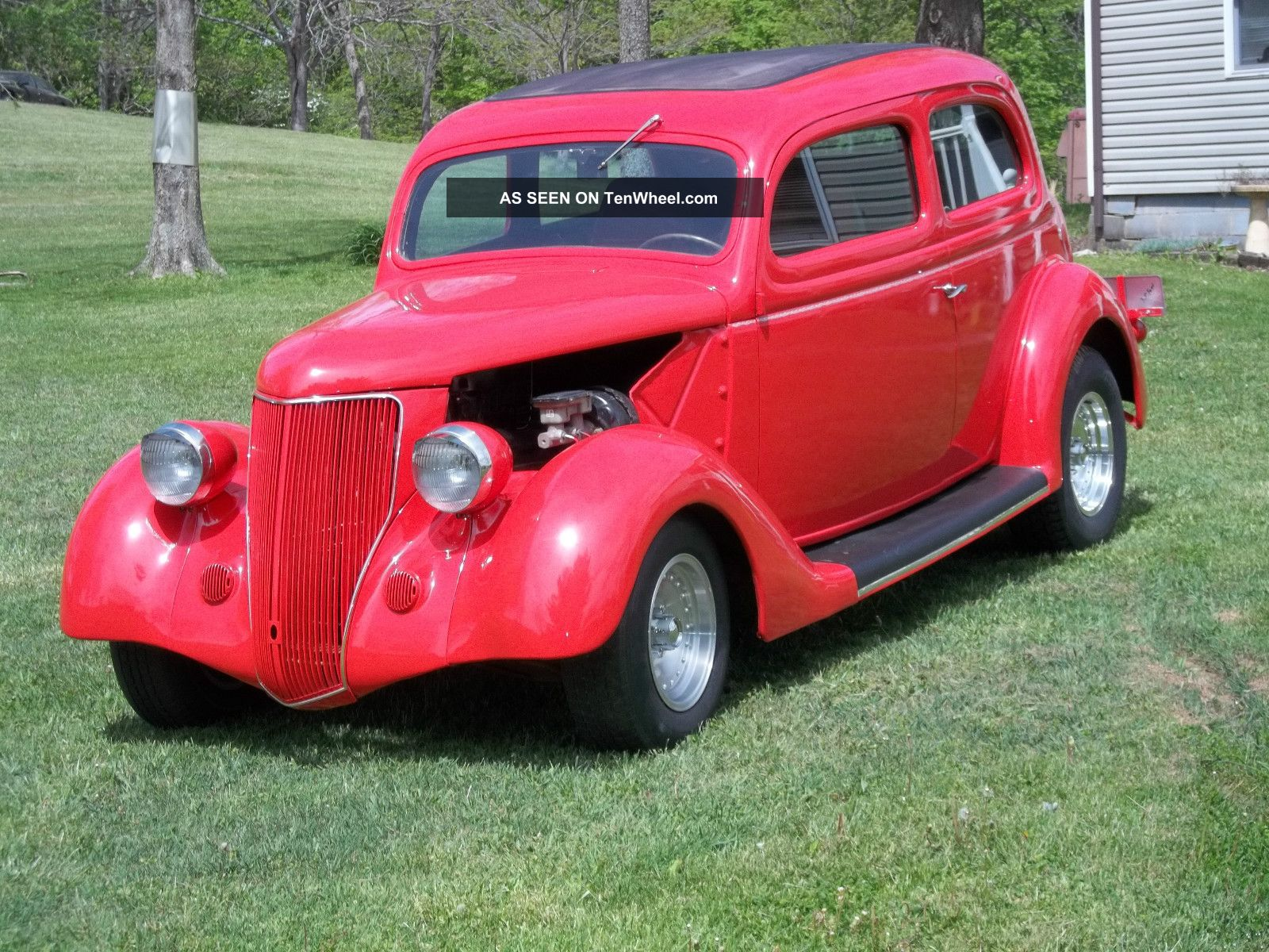 1936 pontiac 2 door sedan pictures to pin on pinterest for 1936 dodge 4 door sedan