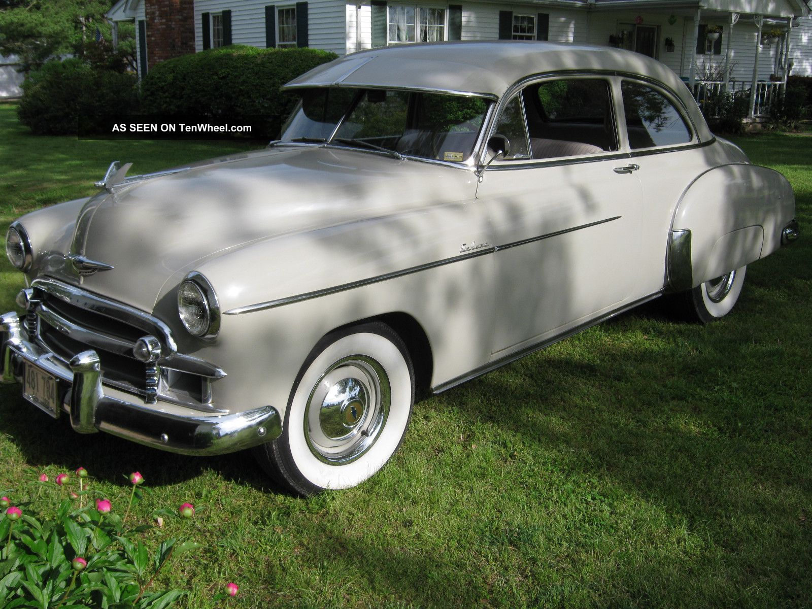 1950 Chevrolet Styleline Deluxe 2dr