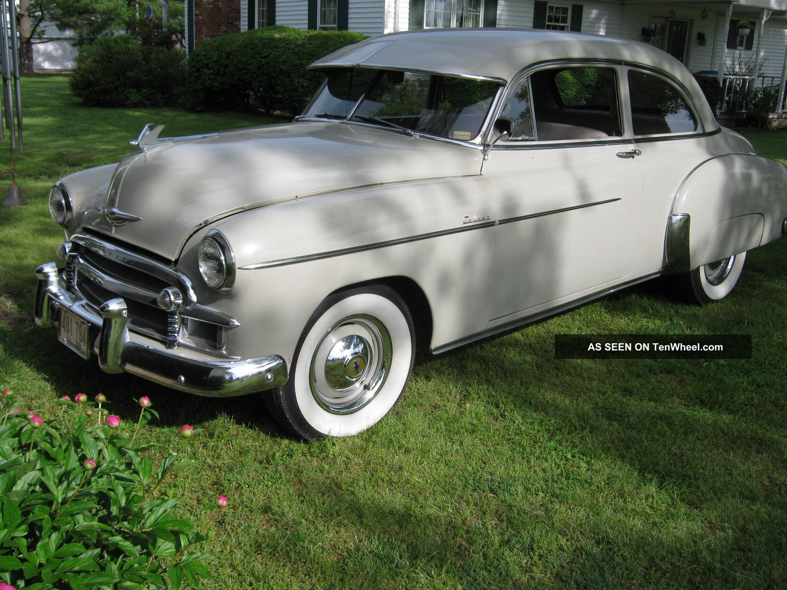 1950 chevrolet styleline deluxe 2dr for 1950 chevy styleline deluxe 4 door sedan