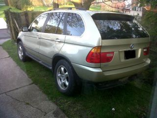 2001 Bmw X5 4.  4i Sport Utility 4 - Door 4.  4l photo