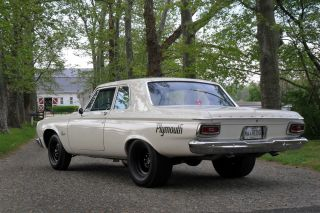 1964 Plymouth Savoy Max Wedge 2door Sedan / Post,  Stock, photo