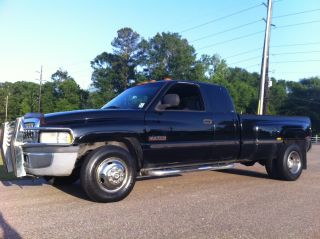 1999 Dodge Ram 3500 5.  9 Cummins Turbo Diesel Quad Cab Ac 164k Dually 2wd Laramie photo