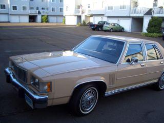 1984 Mercury Grand Marquis Base Sedan 4 - Door 5.  0l photo