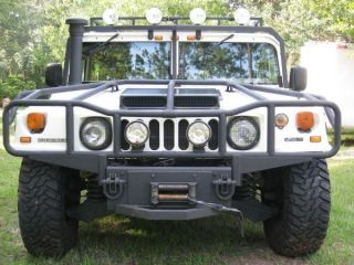 1997 H1 Hummer Am General 6.  5l Turbo Diesel 4wd Winch Lights ( ) photo