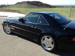 1997 Mercedes - Benz Sl500 Base Convertible 2 - Door 5.  0l photo
