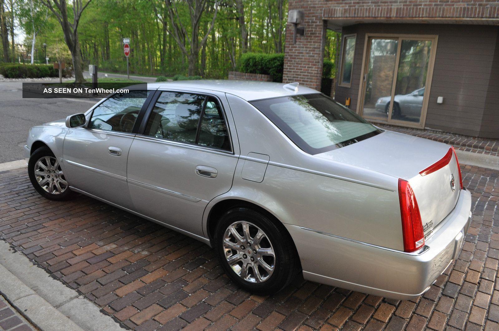 2009 Cadillac Dts Platinum Heated Onstar Rebuilt