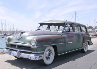 1952 Chrysler Town & Country Wagon,  Firedome Hemi Engine,  Condition photo