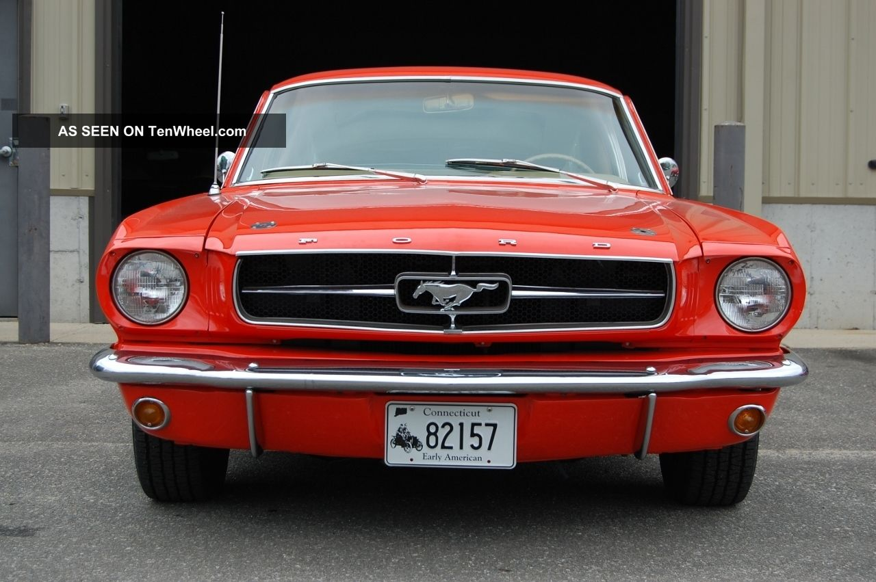 1965 ford mustang 289 k code fastback 4 speed 9 inch