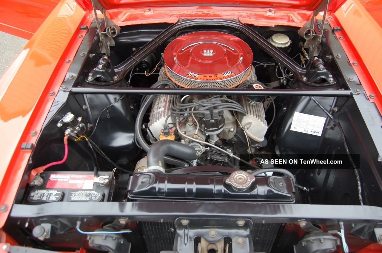 1965 Ford Mustang 289 K Code, Fastback, 4 - Speed, 9 Inch
