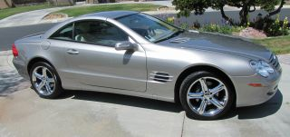 2005 Mercedes - Benz Sl500 Base Convertible 2 - Door 5.  0l photo