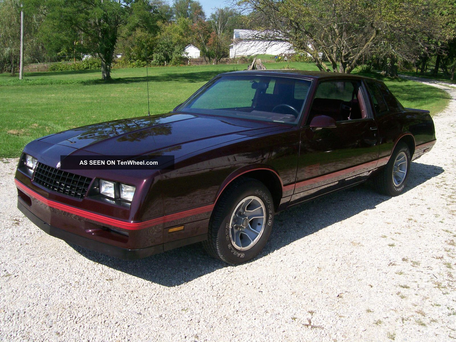 1987 monte carlo ss aerocoupe collector 39 s car gorgeous. Black Bedroom Furniture Sets. Home Design Ideas