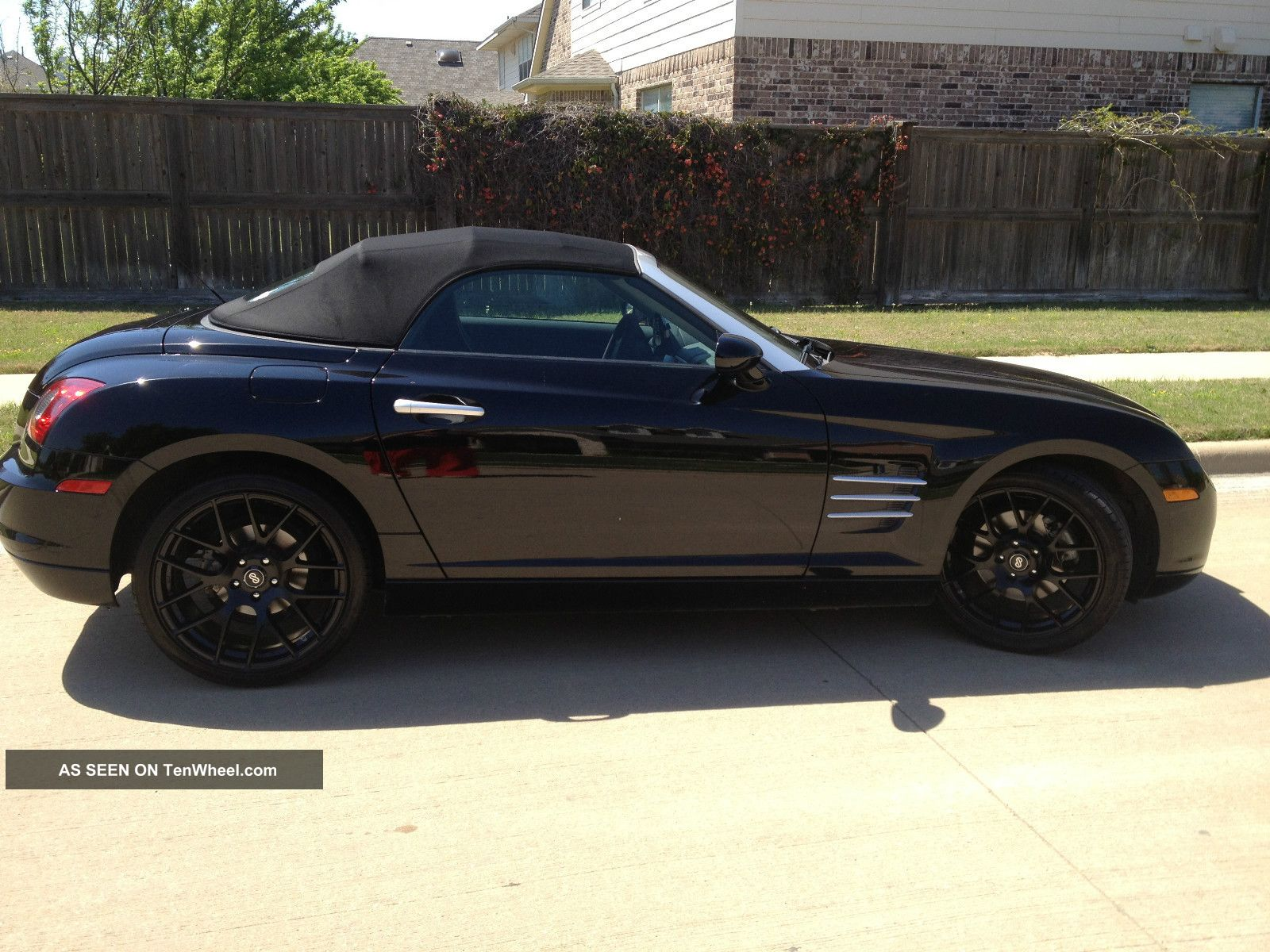 2006 Crossfire Limited Roadster Convertible Black Top