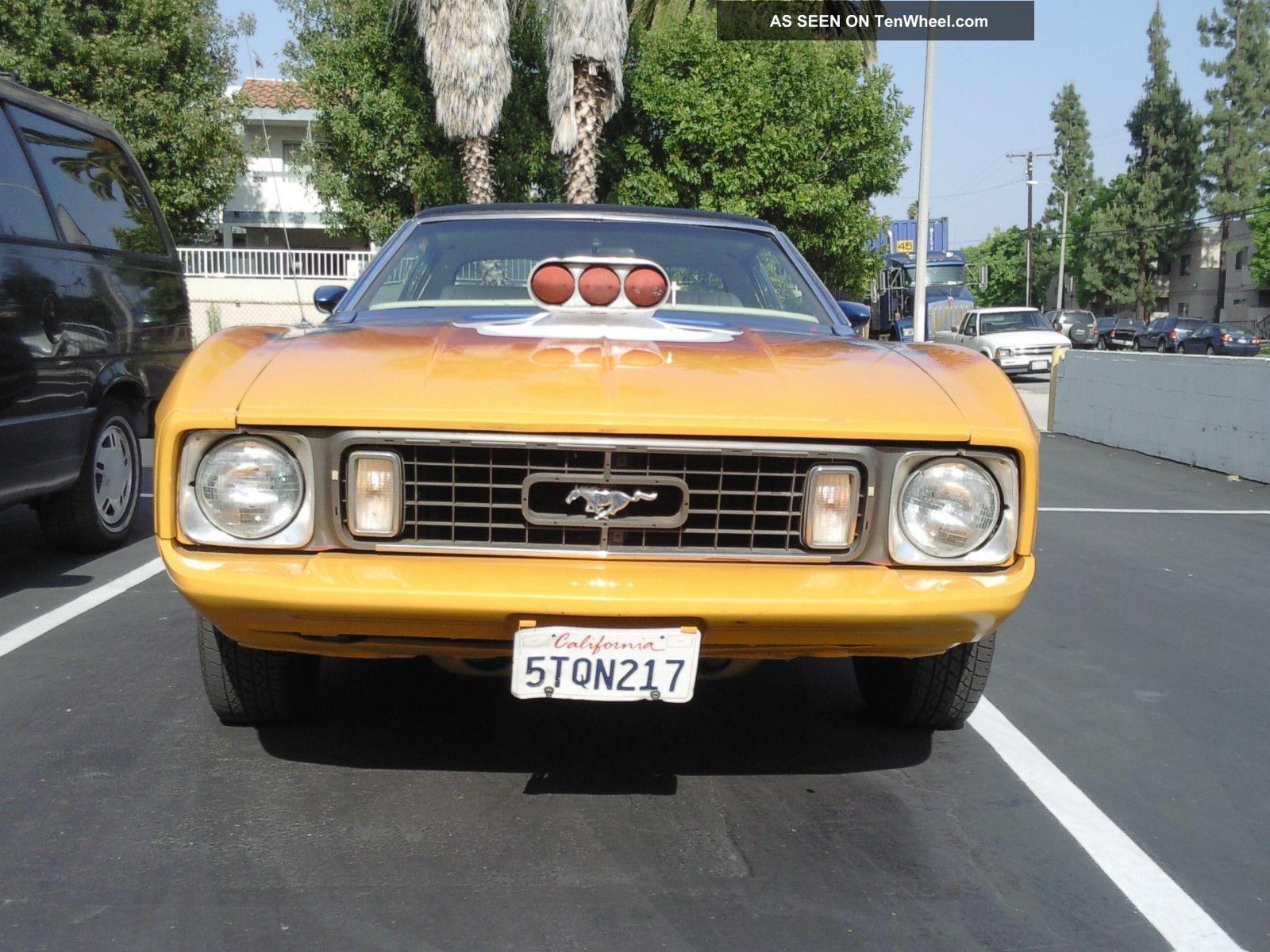 1973 Ford Mustang Mach 1 Grande (rebuilt & Modified) Mustang photo