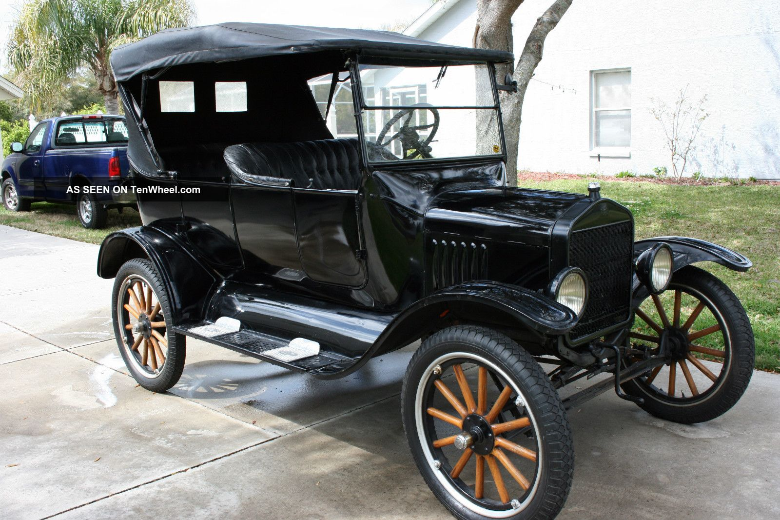 Model T Car: Really 1923 Model T Ford Touring Car