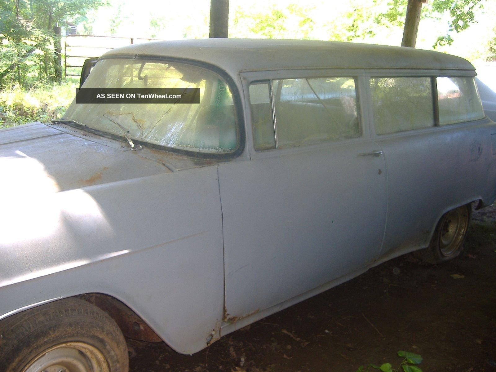, Rat Rod 1955 Wagon,  Project Car,  Lt Motor And 700 Transmission Bel Air/150/210 photo