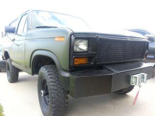 1982 Ford Bronco 4x4 Bov Not Cucv photo