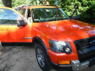 2007 Ford Explorer Rare Harley Davidson Orange photo