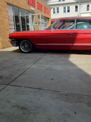 1962 Cadillac Series 62 Sedan Mettallic Red Paint Runs And Drives Good photo