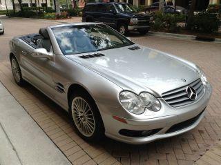 2003 Mercedes - Benz Sl500 Base Convertible 2 - Door 5.  0l photo