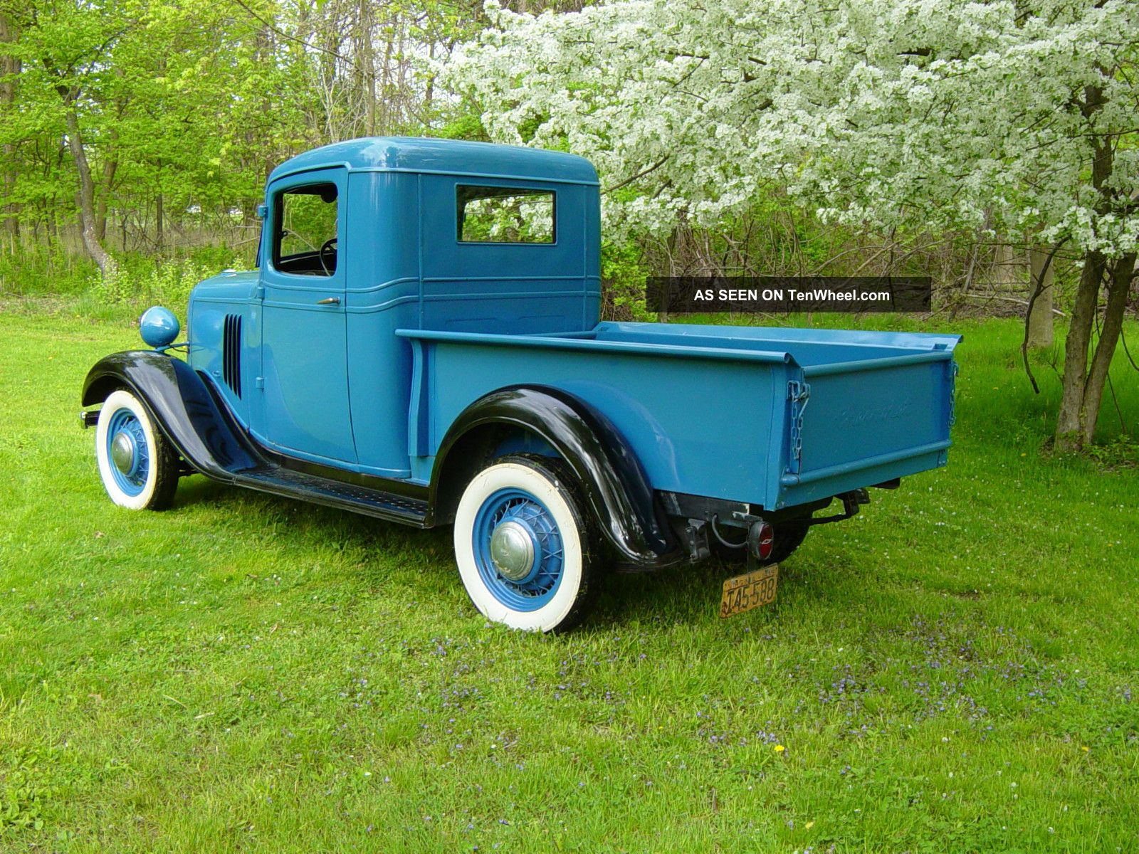 1935 Chevy 1 / 2 Ton Pick Up Truck Very Solid Older