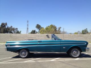 1964 Ford Falcon Futura 2dr Convertible California Classic 64 Cruiser Barn Find photo