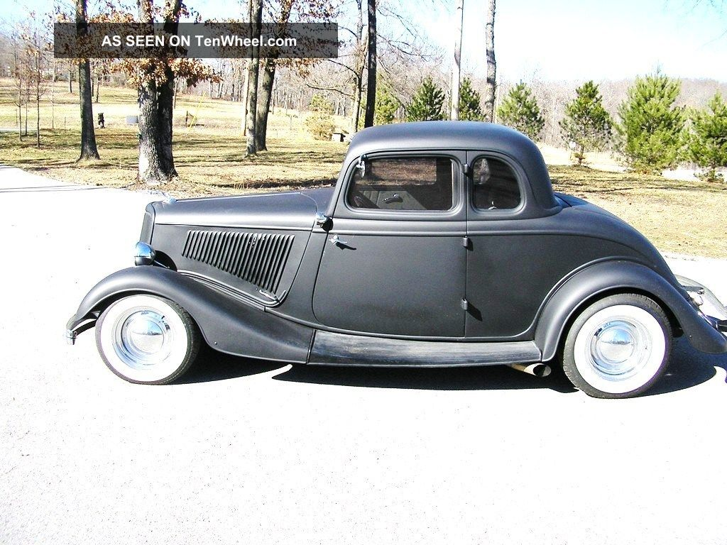 1934 Ford Henry Steel 5 Window Coupe Custom Classic Hot Street Rod No Rat Other photo