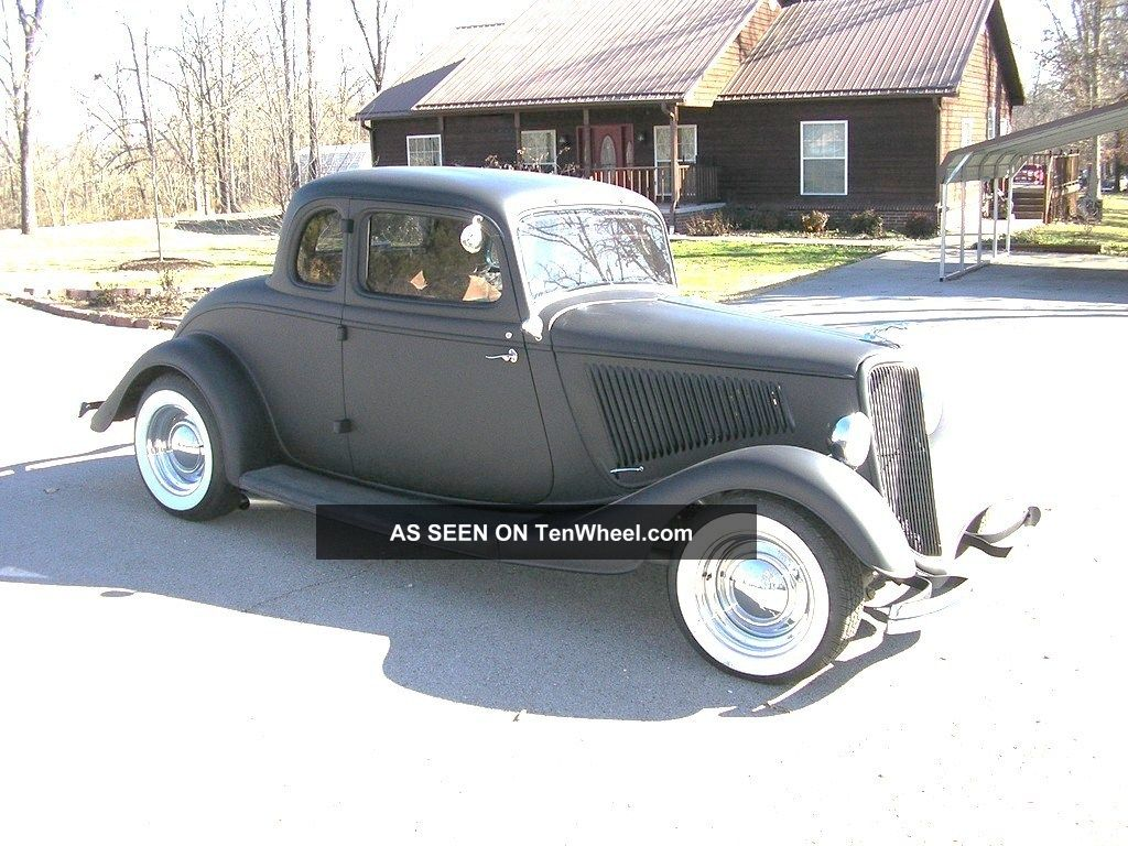 1934 ford henry steel 5 window coupe custom classic hot for 1934 5 window coupe